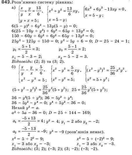 Гдз по алгебре 9 клас кравчук підручна янченко