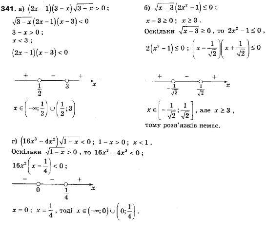 Алгебра 9 гдз ю мальований