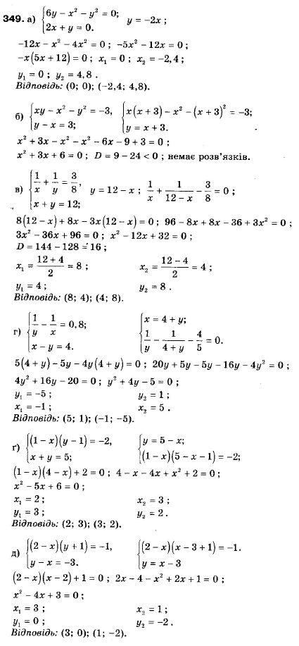 онлайн гдз алгебра класс мальований 9