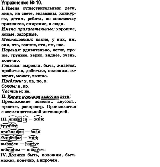 Гдз решебник 6 класс по русскому быкова