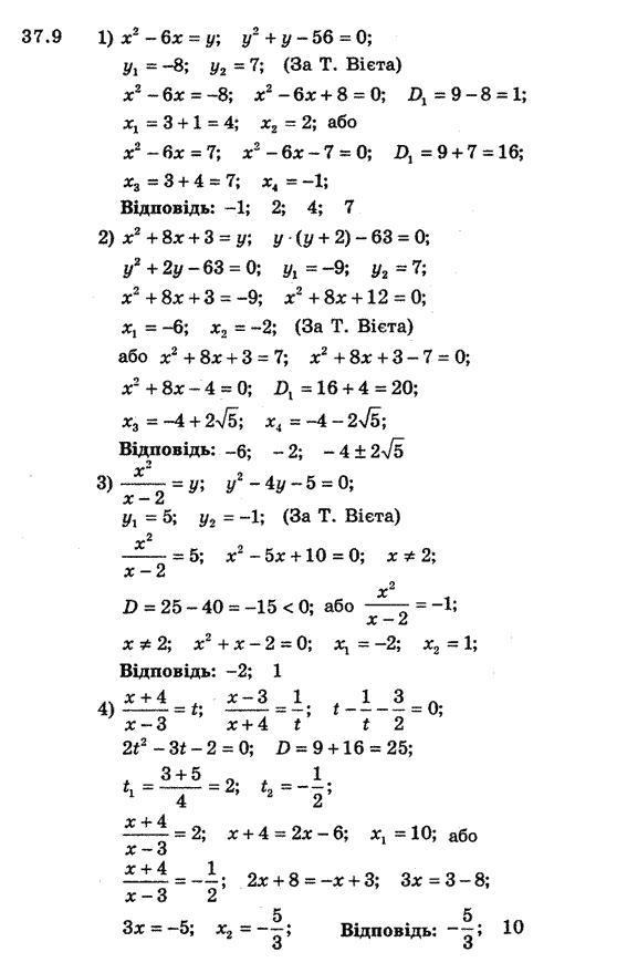 Гдз Алгебра 8 Клас Мерзляк Полонський Якір Стара Програма