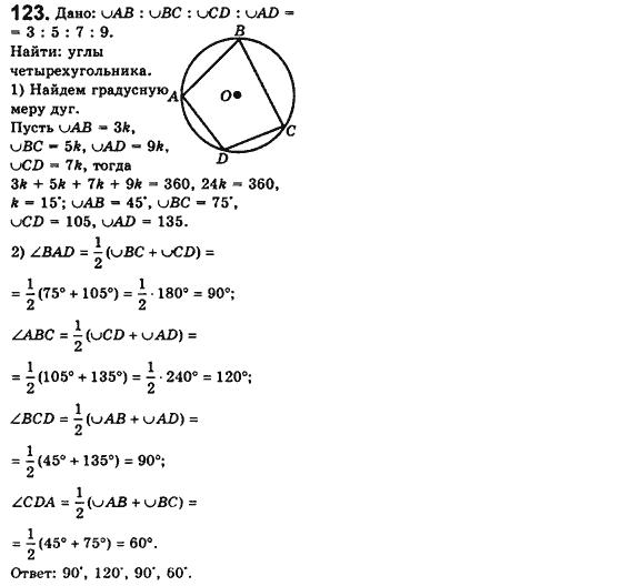 мерзляк сборника класс геометрии для решебник 11 по