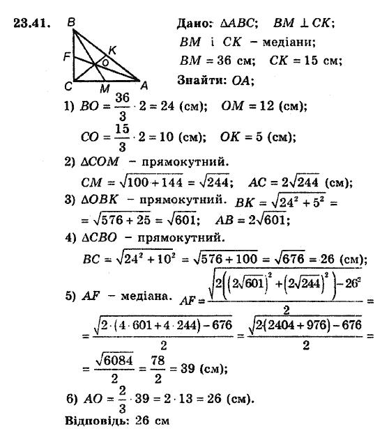 Поглибленого вивчення гдз для клас гдз мерзляк 8 геометрія