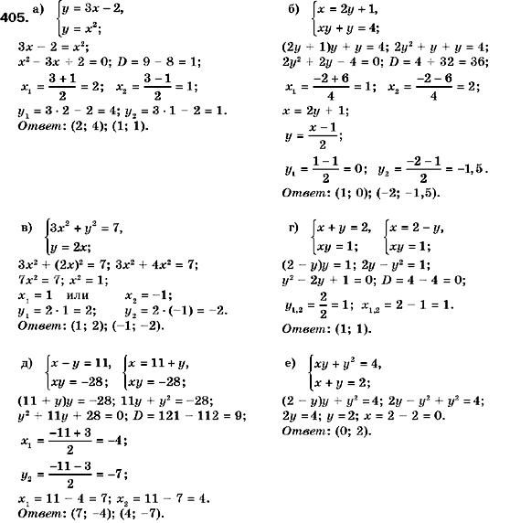 Решебник С Алгебры 9 Класс Кравчук Янченко