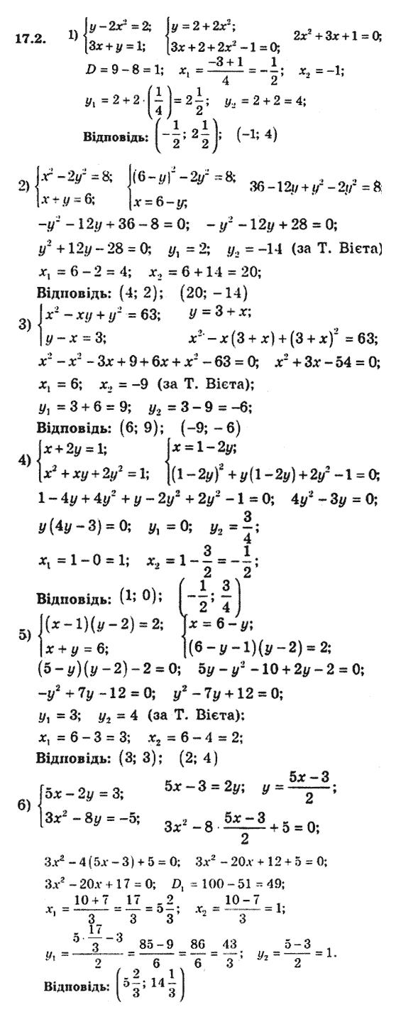 Решебник по алгебре 9 класс мерзляк 2016