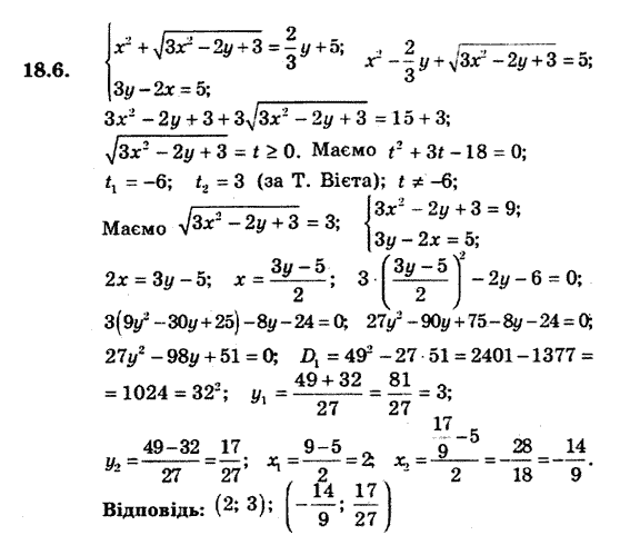 мерзляк класс гдз с поглибленим 9 алгебра якір вивченням полонський