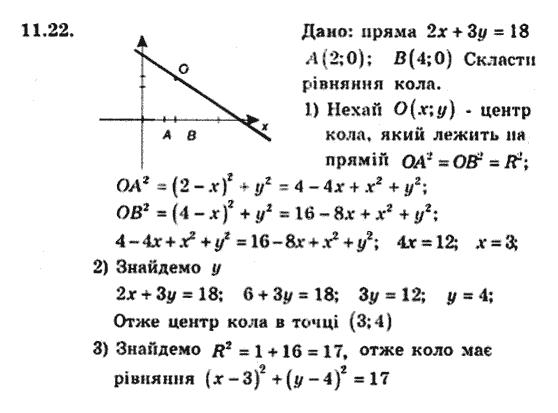 поглибленим гдз гдз мерзляк вивченням класс з 9 геометрия якір полонський
