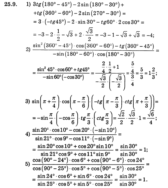 Алгебра Мерзляк Номіровський Полонський Якір Гдз 10