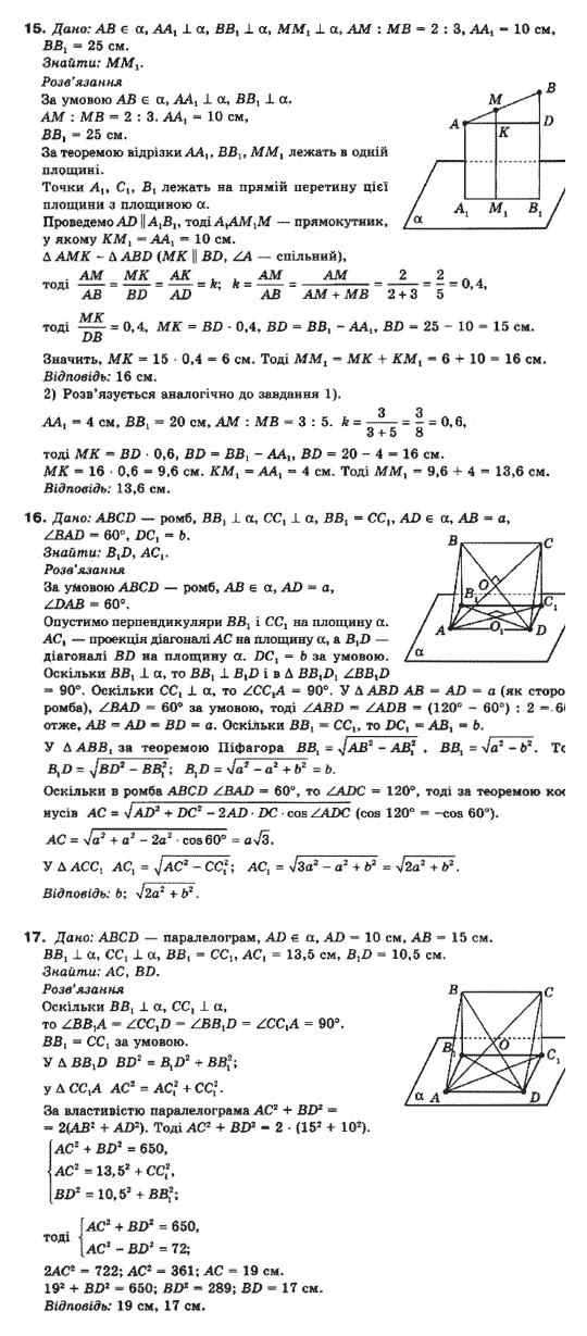 Бурда клас 10 гдз стандарту для рівень математики