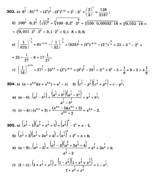 На гдз 10 класс з математики