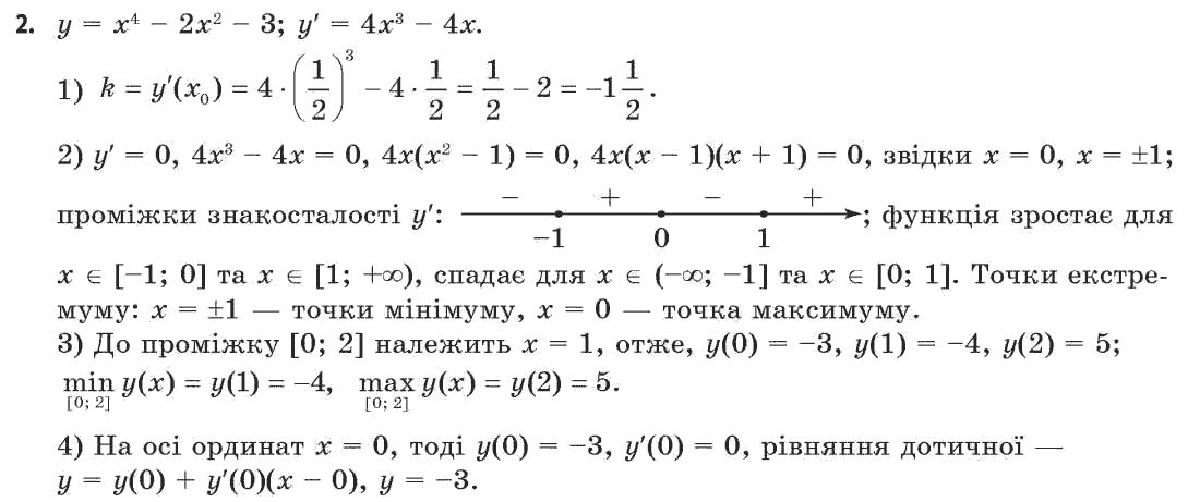 бродський 11 математика i гдз клас