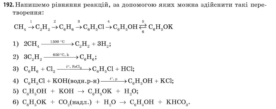клас хімія 11 попель гдз