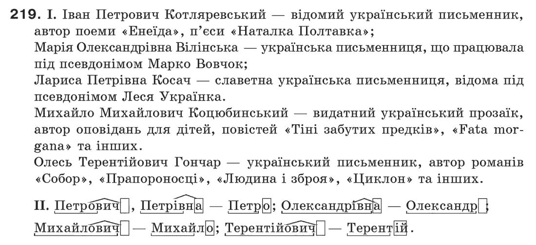 з украинской класпентелюк 6 гдз мовы