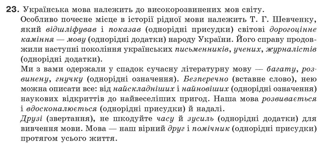 Гдз по українська мова 5 клас
