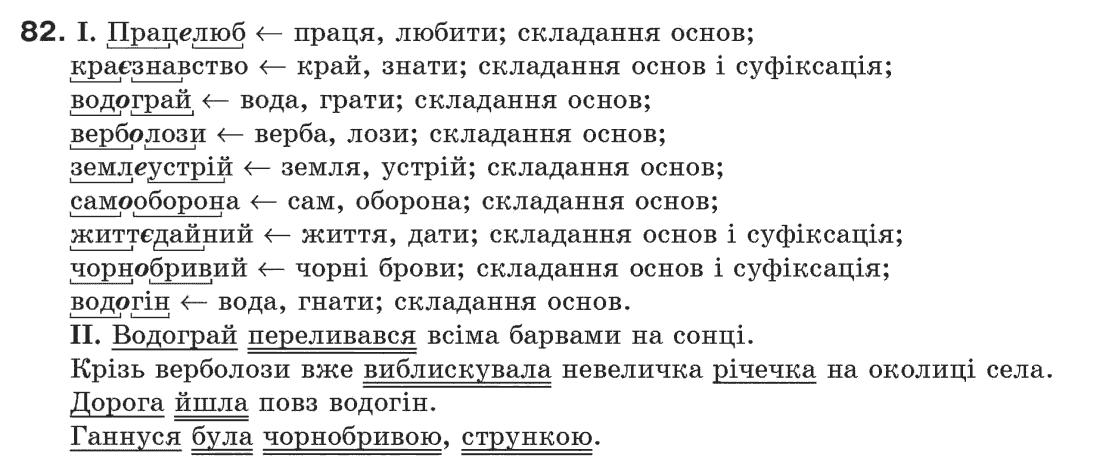 украинской 6 з класпентелюк мовы гдз