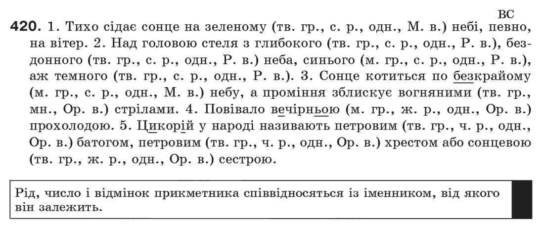 Гдз По Украинскому Языку 7 Класс Олександра Глазова Юрий Кузнецов