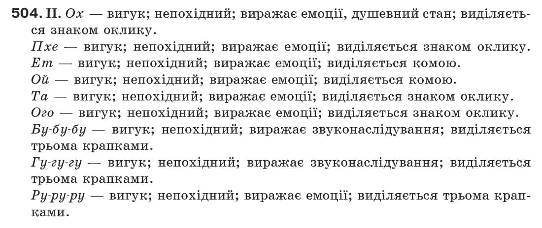 гдз укр мова 1