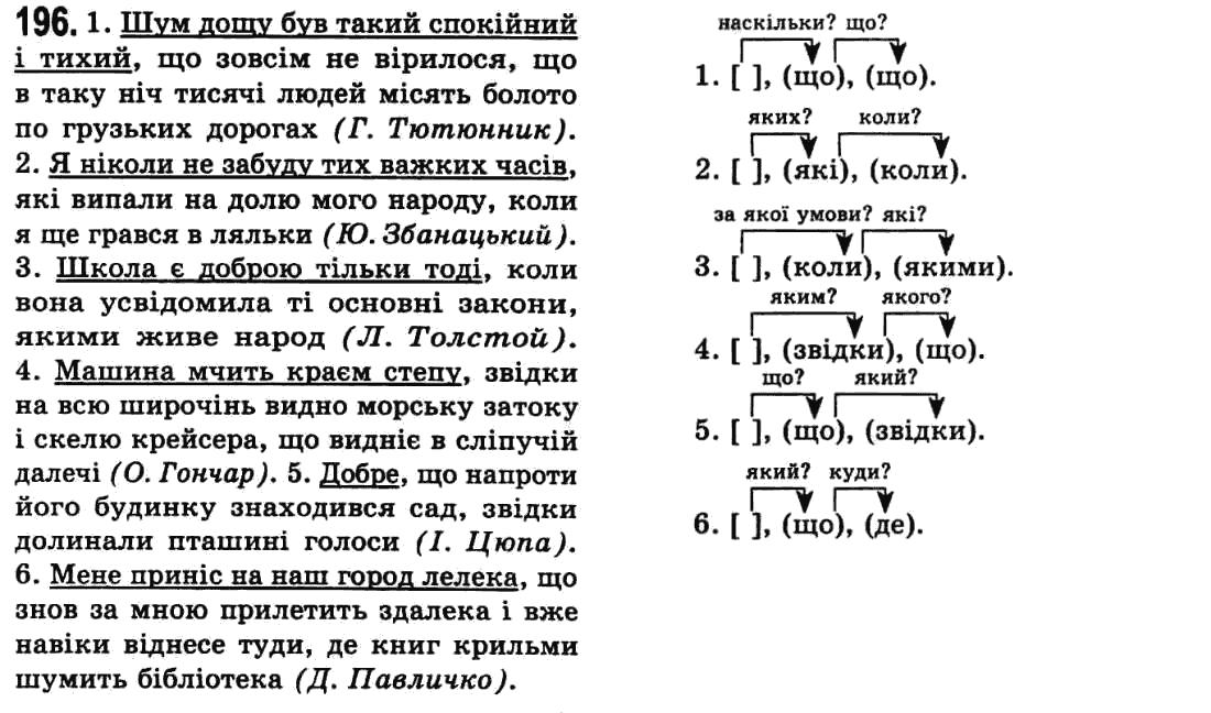 Украинскому гдз заболотний класс вправа 78 5 языку по