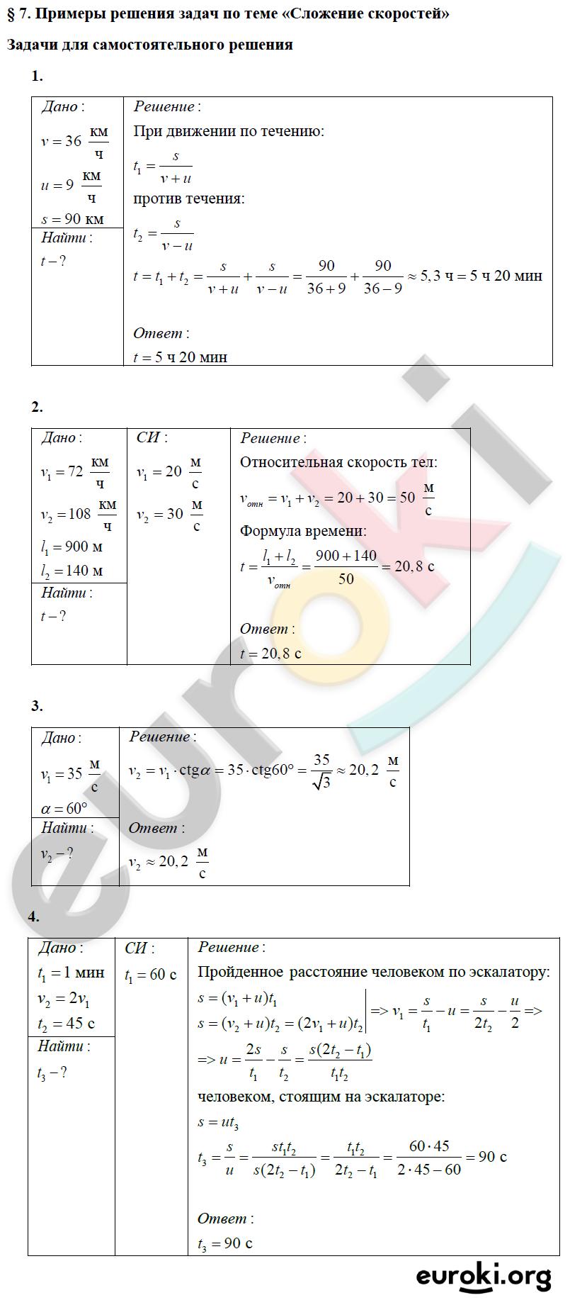 Решение задач по физике мякишев с решениями задачи на периодическое движение с решением