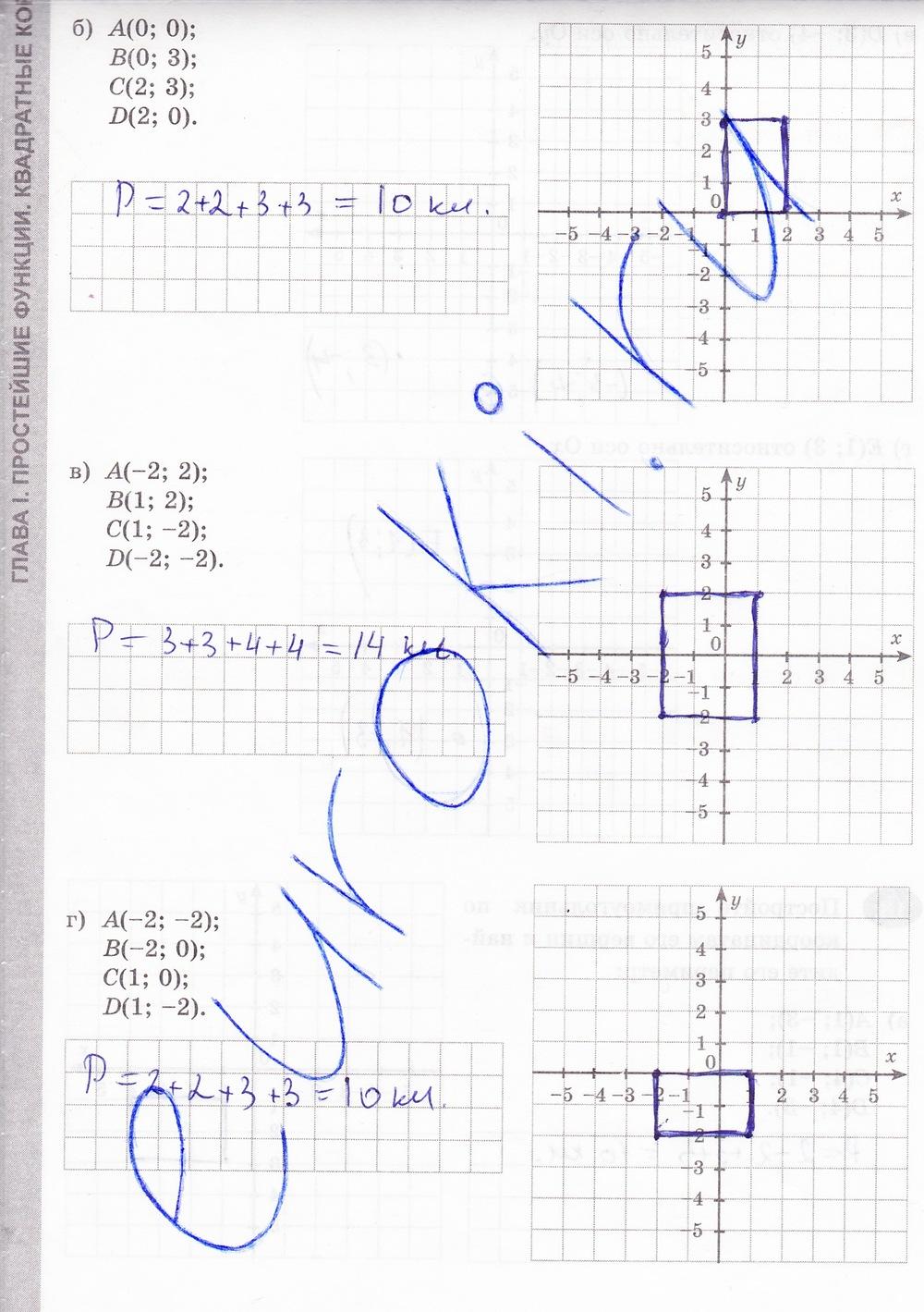 журавлев геометрия алгебра решебник класс 8