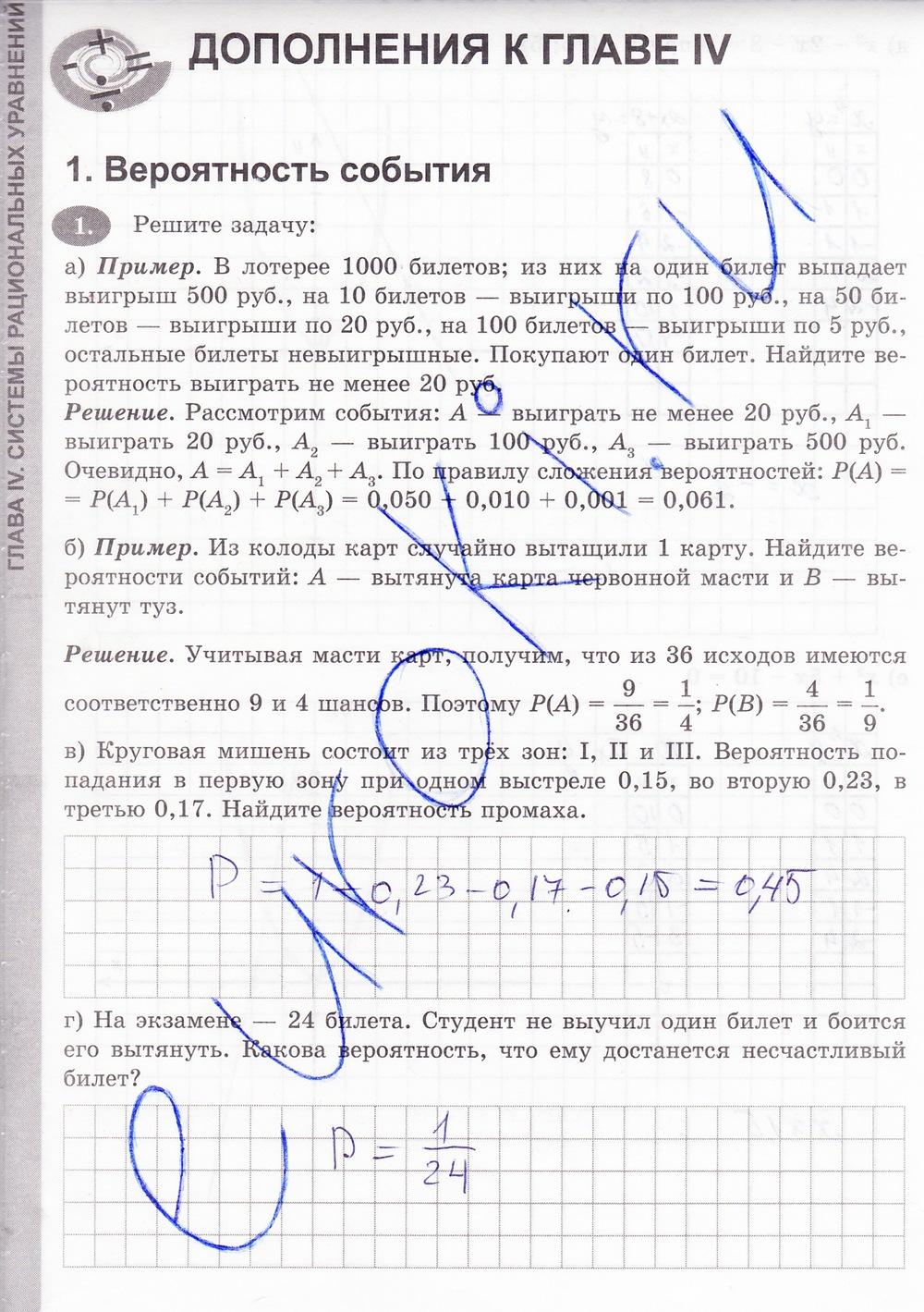 учебнику гдз 8 по класс никольского