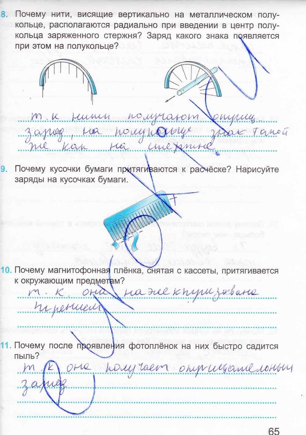 Издание физике гдз 15 по дмитриева