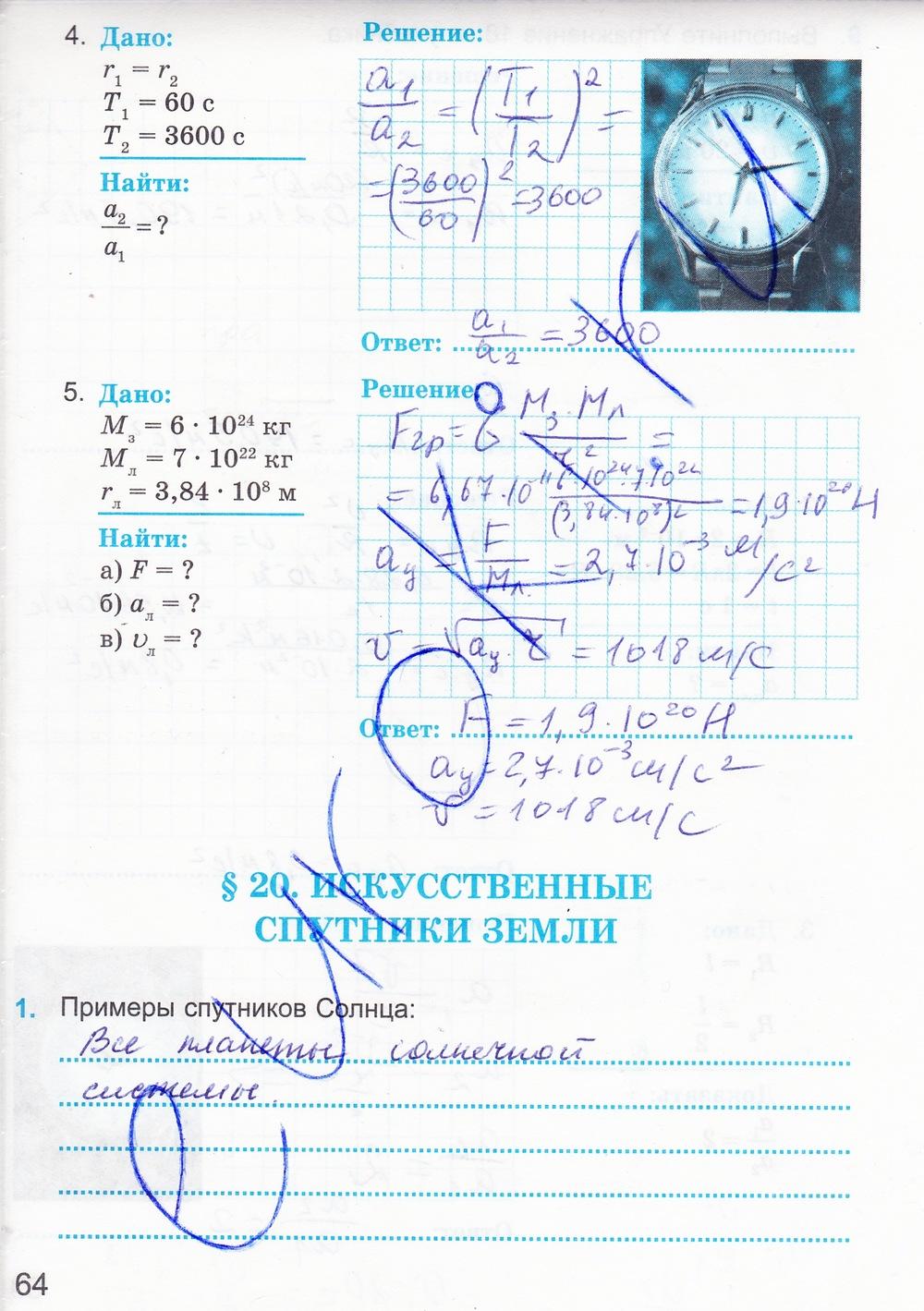 Гдз Физика Дмитриева Учебник