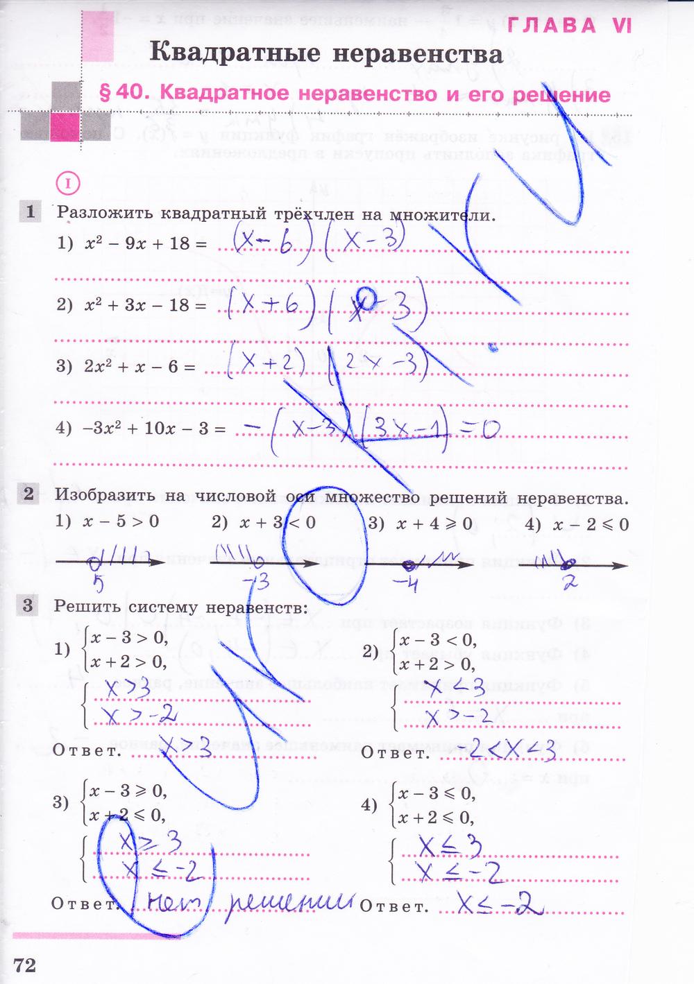 Гдз По Алгебре 7 Класс Колягин Ткачева Федорова Шабунин С Проверь Себя