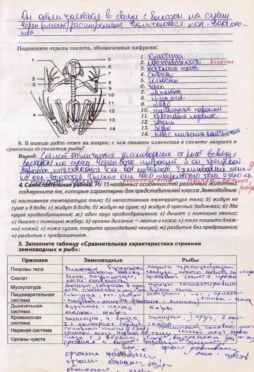 Гдз Биология Калинчук Гусева