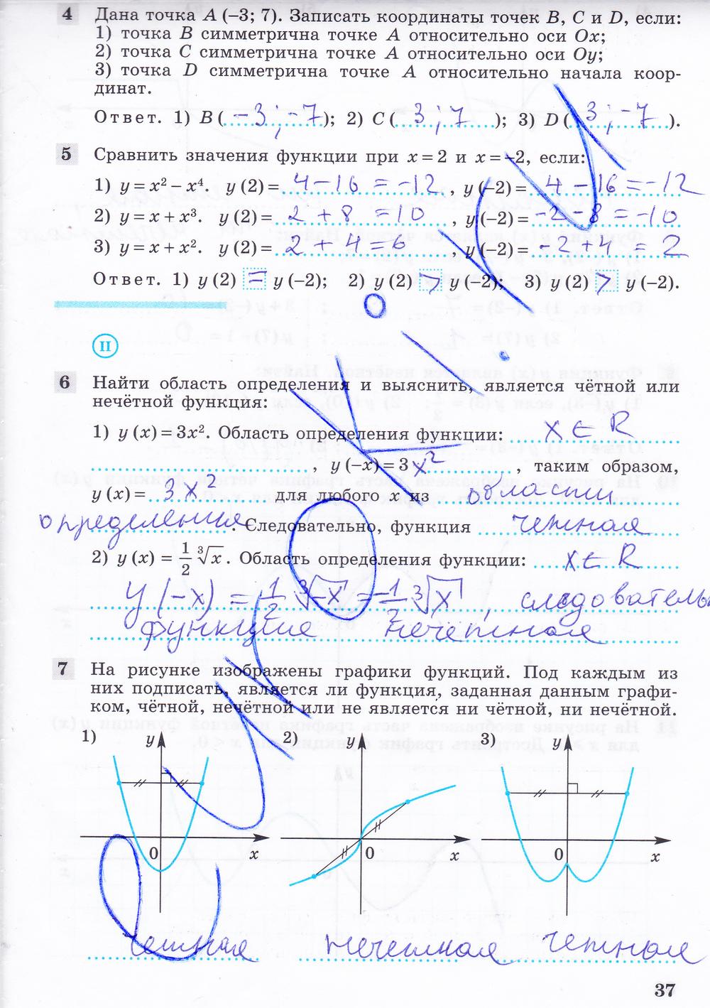 Гдз по алгебре 9 класс фёдорова учебник