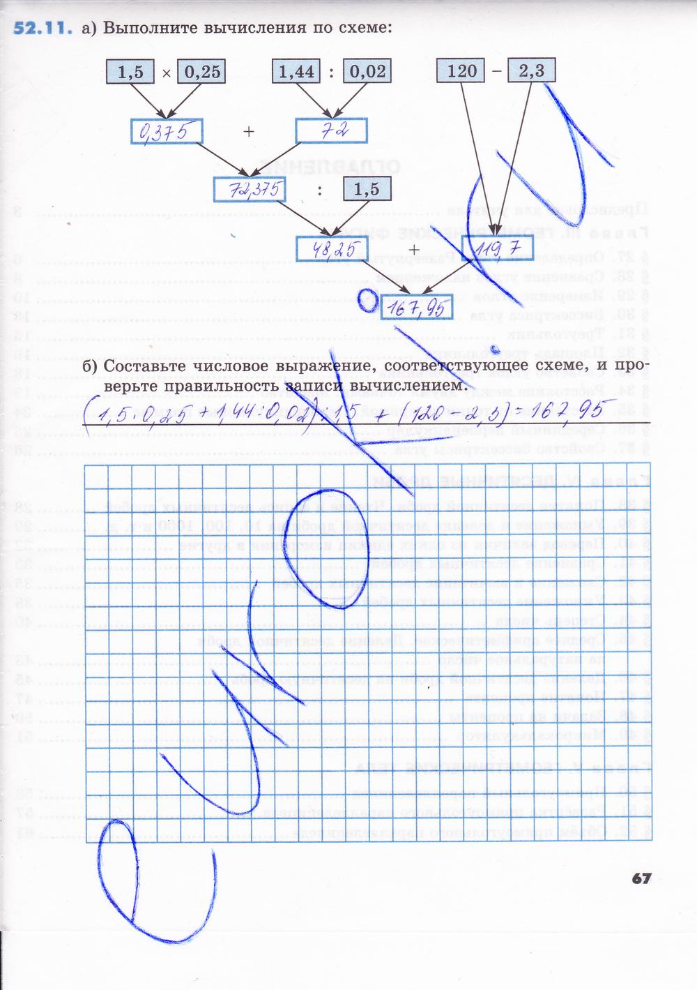 Гдз по математике зубарева рабочая тетрадь номер 1