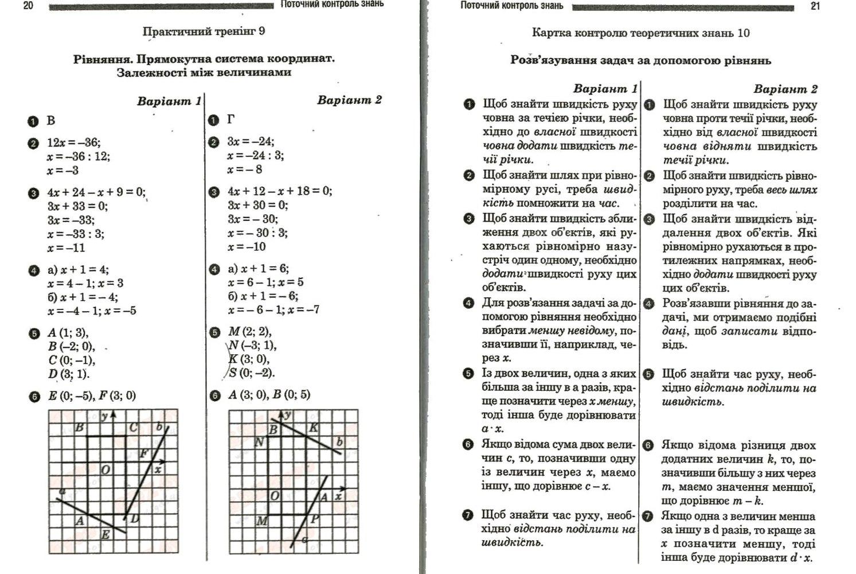 зошит математике робочий клас гдз 6 по