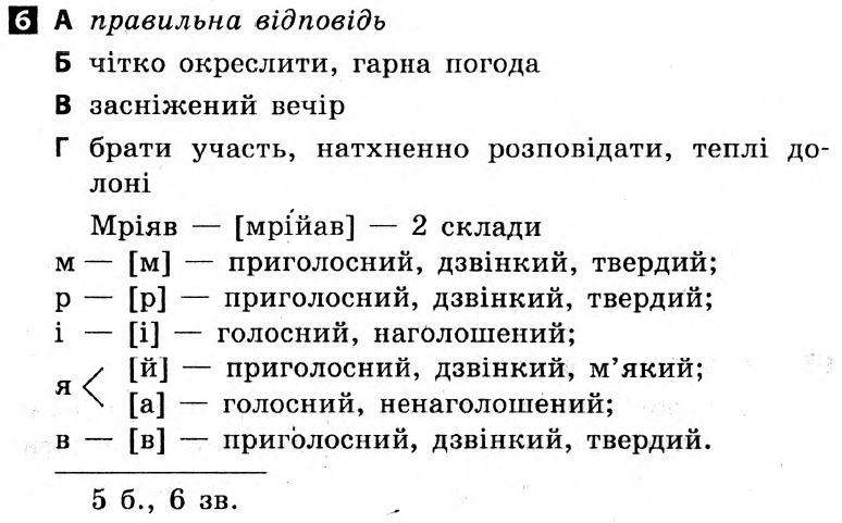 Класс 6 украинскому по за гдз