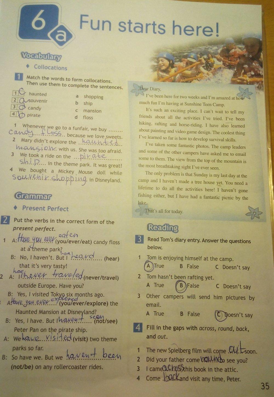 гдз по английскому языку 7 класс тетрадь ваулина дули подоляко эванс