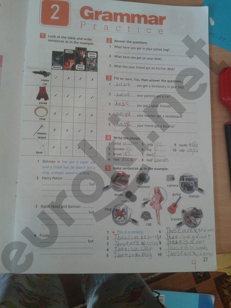 решебник по английскому 5 класс ваулина дули рабочая тетрадь