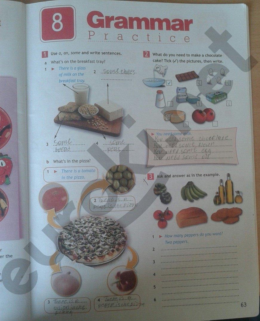 решебник по английскому языку 5 класс ваулина рабочая тетрадь страница