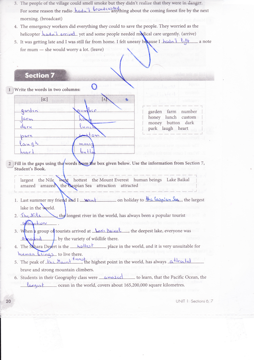 решебник по английскому рабочей тетради 8 класс биболетова