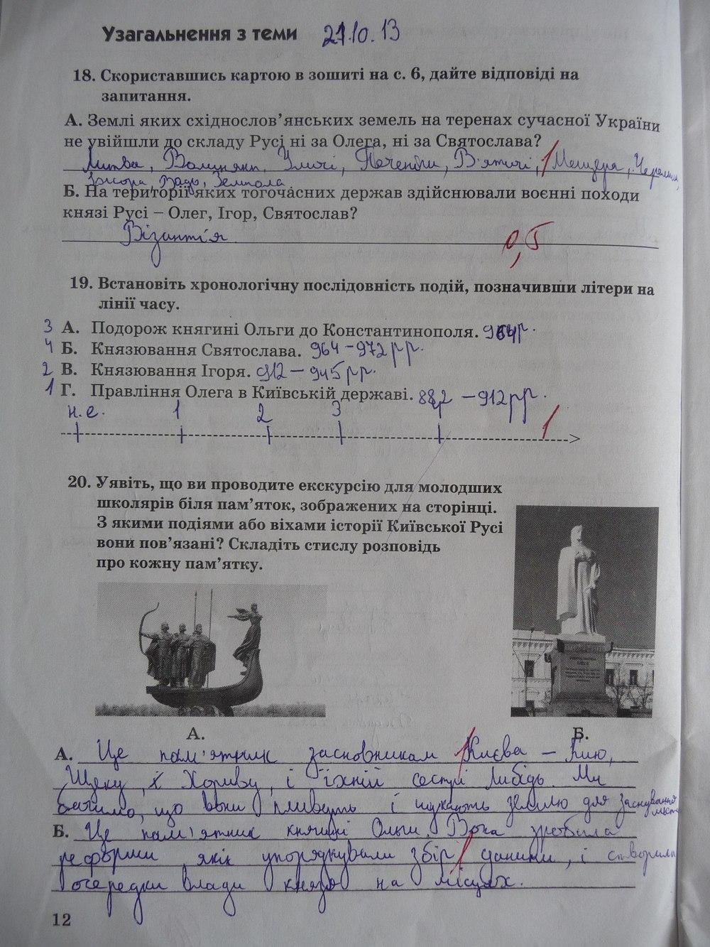 Гдз 5 Клас Історія України Зошит Власов Відповіді