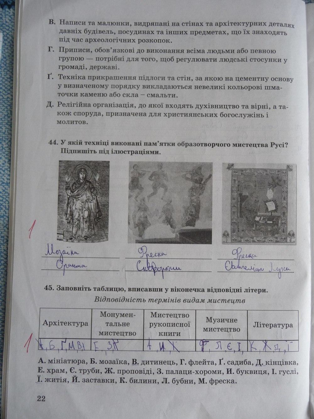 5 власов історія україни гдз клас відповіді зошит