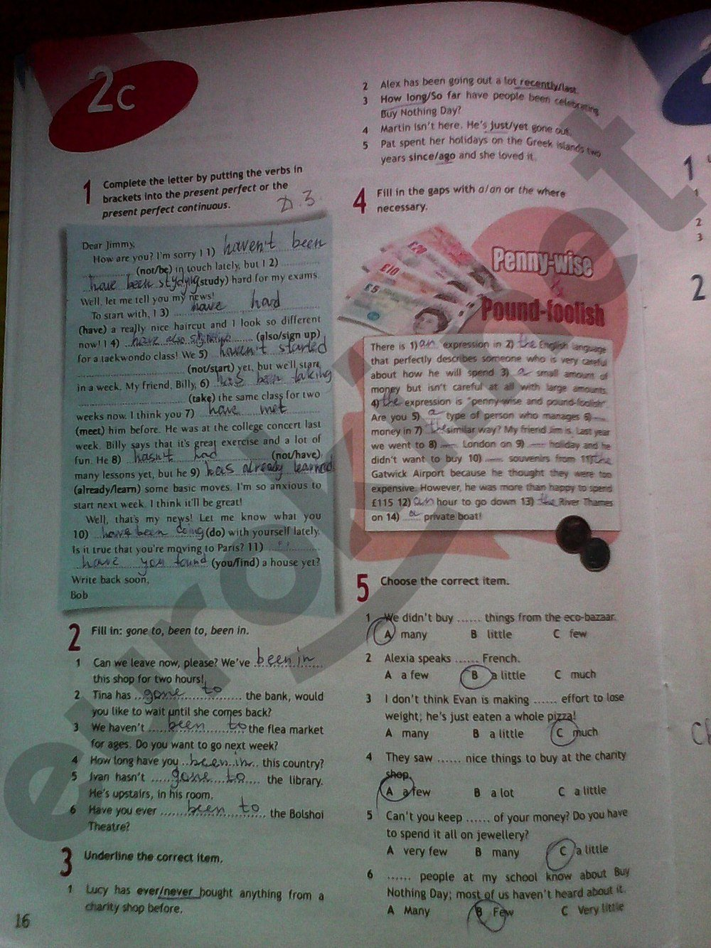 рабочая тетрадь по английскому языку 8 класс ваулина гдз онлайн