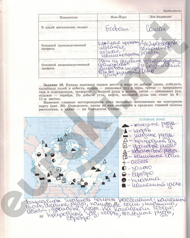 класс гдз тетрадь на 11 по максаковский географии рабочую