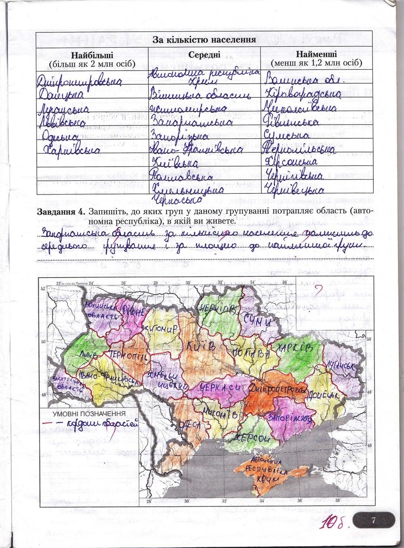 Гдз география 9 клас бойко