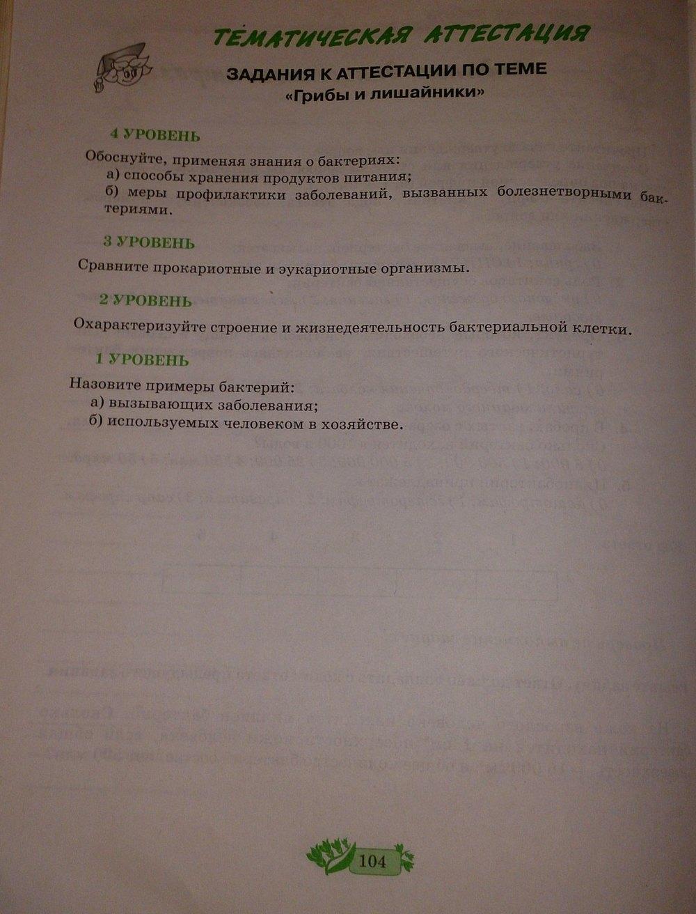 біологія 7 клас гдз робочий зошит андерсон вихренко
