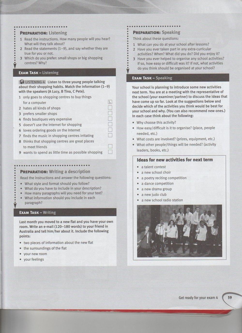 Учебник гдз pre-intermediate на