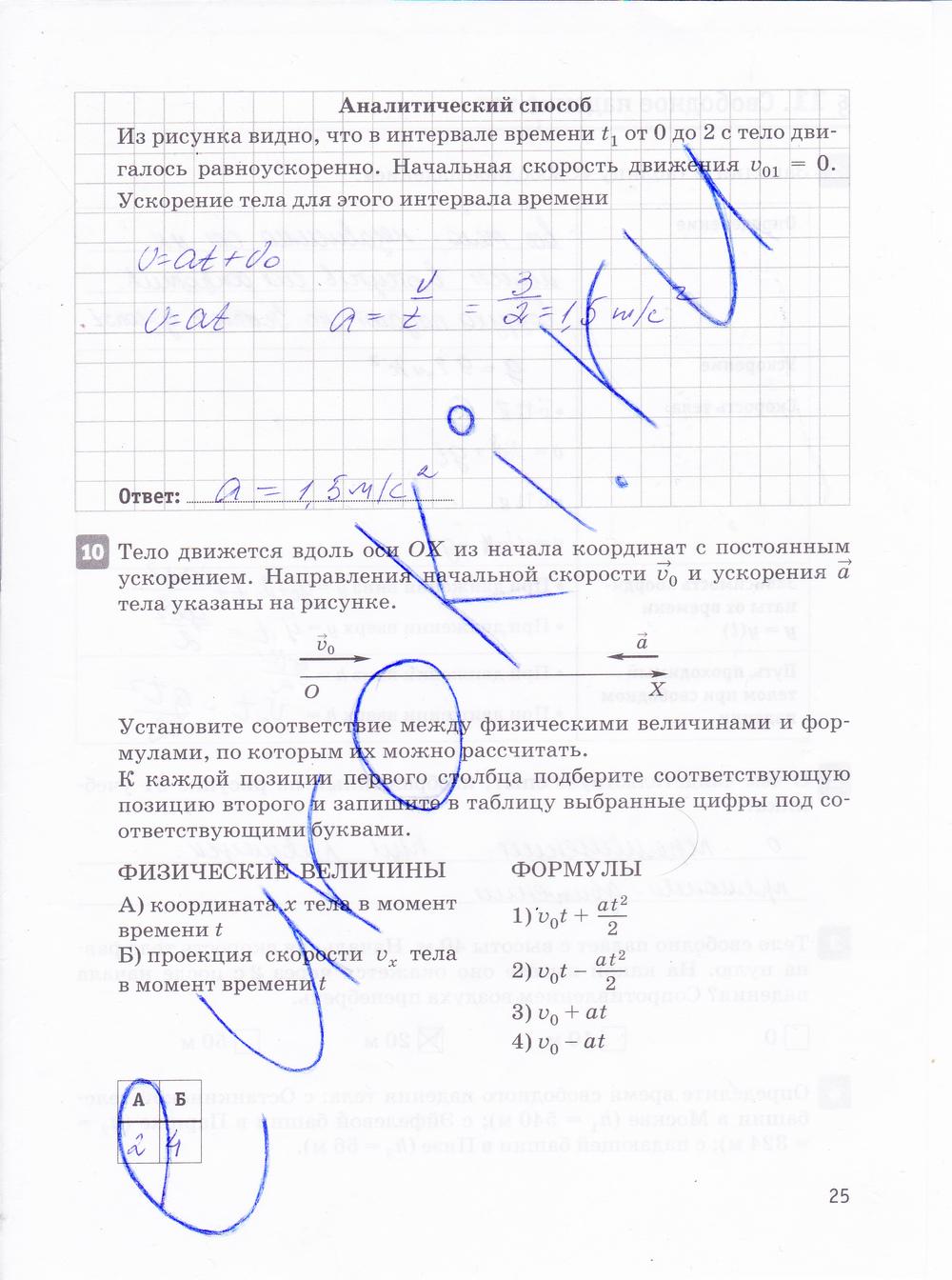 Гдз 10 класс касьянова