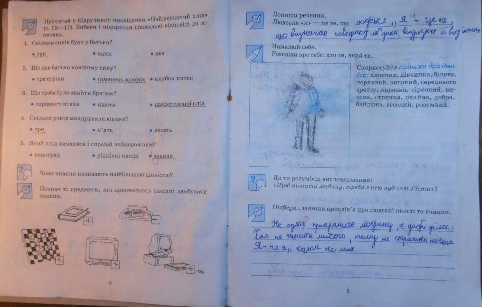 3 зошит клас природознавству робочий відповіді гдз по діптан