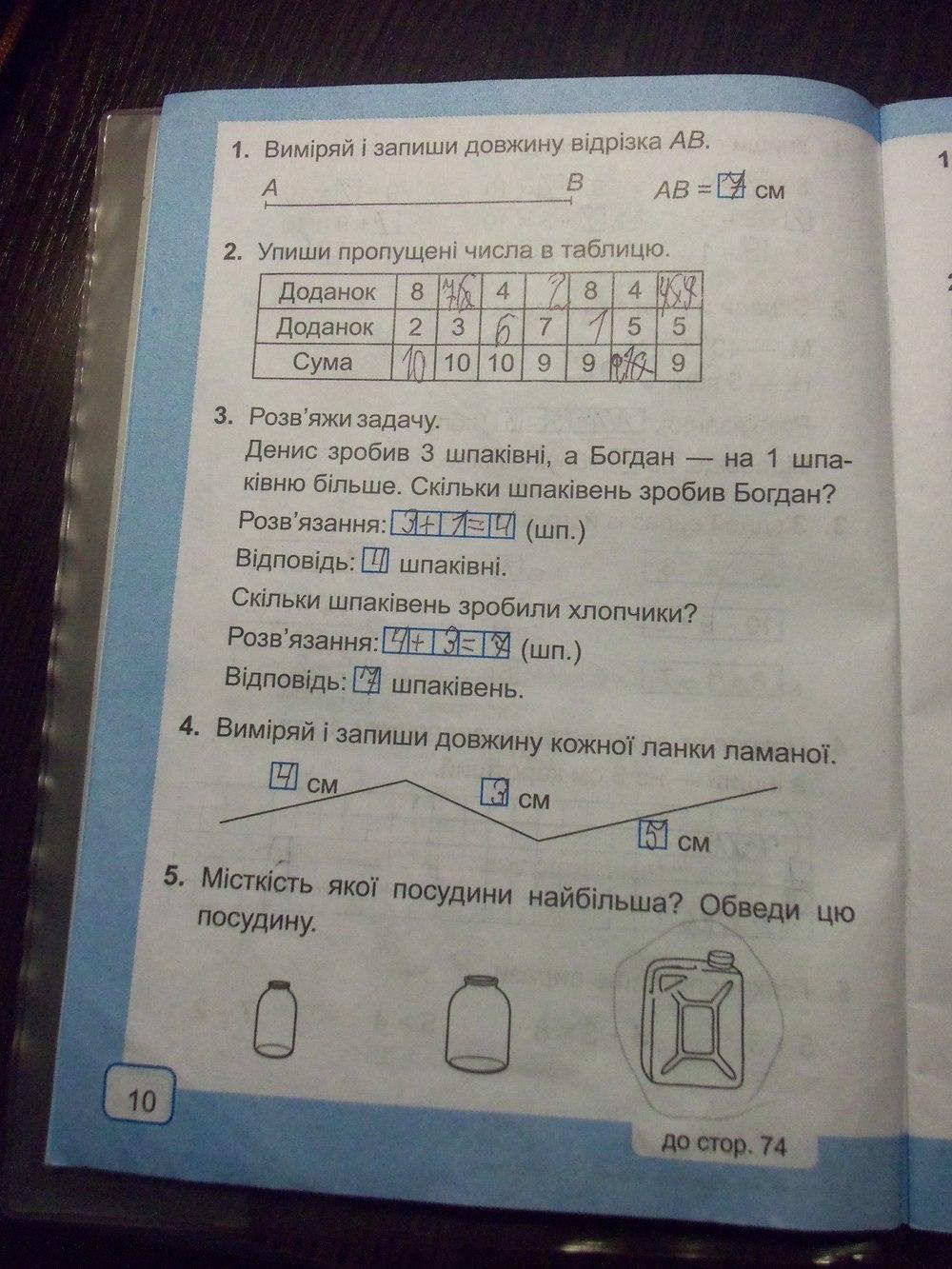 гдз 1 клас богданович зошит