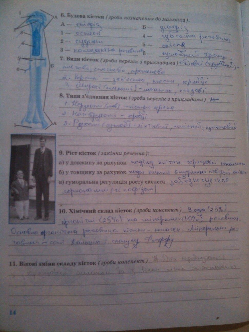 Гдз Биология 9 Клас Робочий Зошит Князева