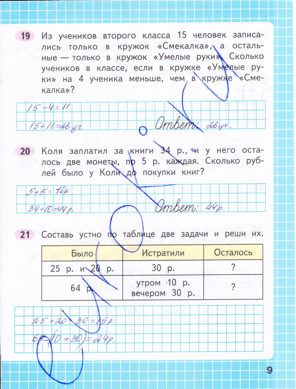 Моро по математике 1 по математике класс путина гдз тетрадь рабочая