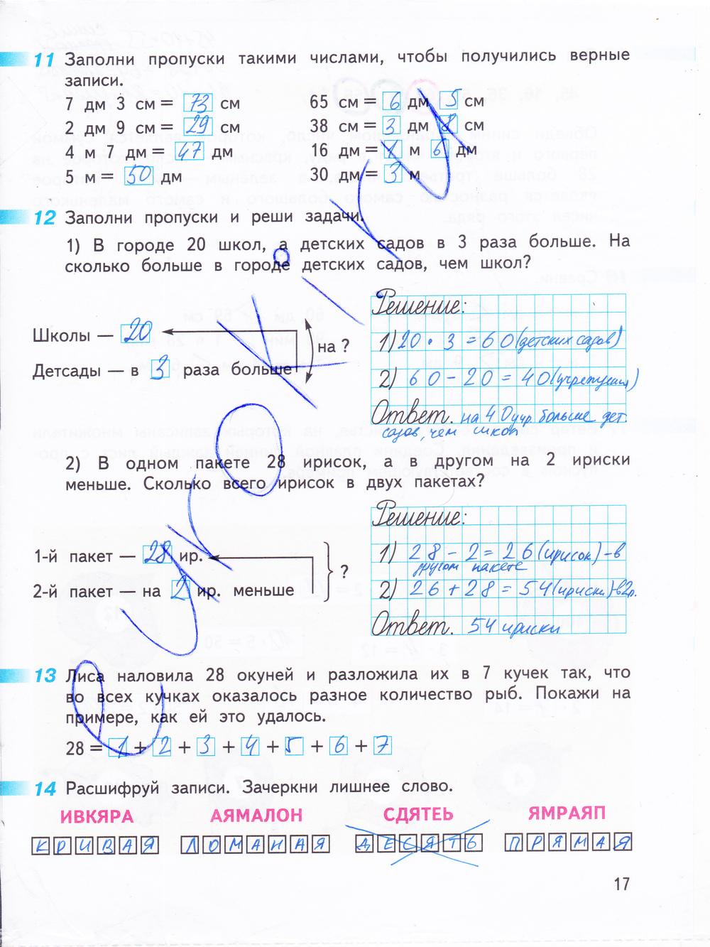 Класс г 3 н т математике по в дорофеев гдз